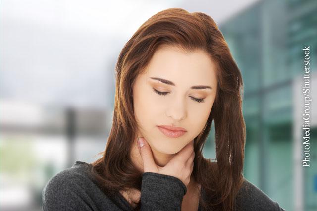 Wie Sie Halsschmerzen loswerden!